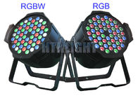4000Hz Refresh Rate 54 X 3W Ip20 Rgbw LED Stage Light / Led Theatre Lights