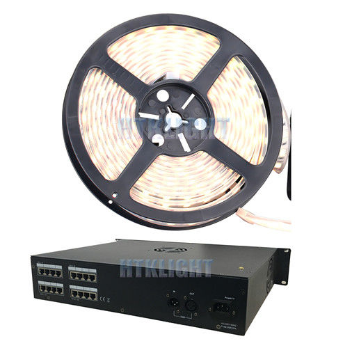 8 Port AC100V - 240V 800W DMX LED Controller 16bit Smooth Dimming