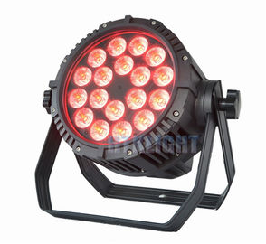 RGBW 6in1 18 X 12W Led Stage Par Light, Lampu Panggung Led Par Dapat Lampu