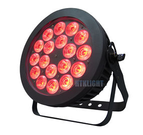 Pendingin udara Waterproof LED Par Light 18x15W Stage Lighting Equipment Untuk Klub Dj