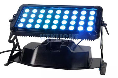 36x8W Rgb Led Wall Washer Lights, IP65 4in1 Led Wall Wash Outdoor Lighting