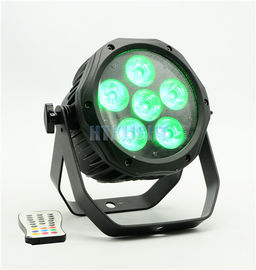 Lampu Tahap Cuci IP65 LED, Wireless RGBWA 6 * 15 Watt 5 in1 Astera AX10 Spot Stage Light